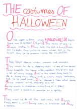 """The Costumes of Halloween"" by Carla"