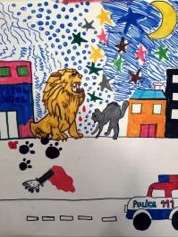 """The Lion"" by Darinka"